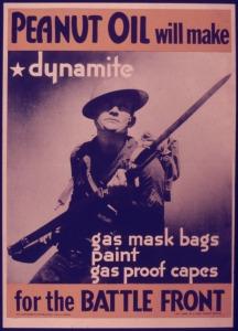 Peanut Oil will make dynamite Apocalypse